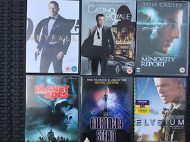 Set of 6 DVDs - Used but very good condition