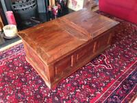 Wooden coffee table/chest - Marks & Spencer