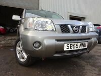 💥55 NISSAN X-TRAIL SVE DCI DIESEL 4X4,MOT AUG 017,2 OWNERS,2 KEYS,PART HISTORY,VERY RELIABLE 4X4