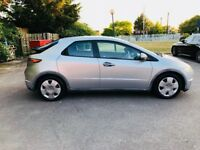 2007 Honda Civic, 1.4 SE I-DSI, 110,000 miles, 6speed, 3Previous Owners, MOT Oct,2018, Hpi Clear