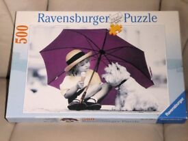 500 Piece Ravensburger Dog Jigsaw, Can I Have Some ?, Histon
