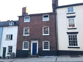 4 bedroom furnished Georgian house Ludlow