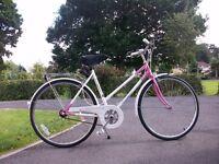 Ladies Universal Riviera Sport bicycle . Sturmey archer 3 speed gears.