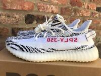 Yeezy Boost 350 V2 zebras - UK size 12