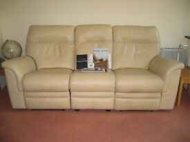 PARKER KNOLL HUDSON DOUBLE ELECTRIC RECLINER SOFA