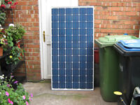 200w/195w Solar Panel Kit for Caravan, Campervan or Motor Home Delivered or Fitted