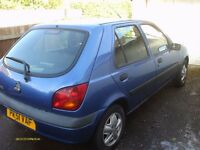 2001 Ford Fiesta LX Zetec