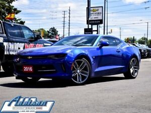 2016 Chevrolet Camaro 2LT RS Edition Sunroof Leather Alloys