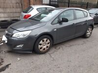 2011 Vauxhall ASTRA 1.7 cdti Manual Grey (Z177) Breaking for parts