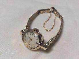 Beautiful vintage Ladies gold Girard Perregaux swiss watch REDUCED AGAIN