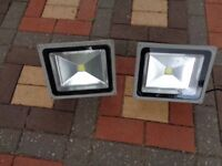 Flood lights. Outdoor. Fully working. 50W. LED, Suitable for shop or home