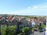 Top Floor Flat with Great views over Bristol