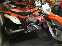 2015 ktm 250 cc EXC immaculate condition fully road registered