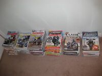 Free to a good home - Classic Motorcycle Magazines, approx. 250 all very good condition.