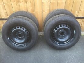 205/65/16C - Four Brand New Tyres on Brand New Rims