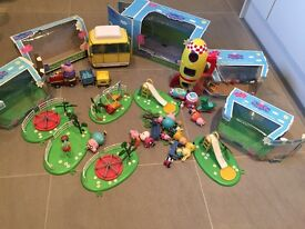 Peppa pig play set collection