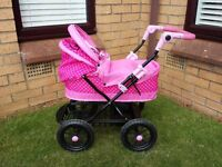 pink hello kitty pram