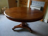 Mahogany Victorian Breakfast Table