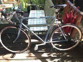 Miyata two-ten steel bike frame vintage