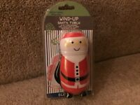 Santa Wind-Up Torch In New and Excellent Condition
