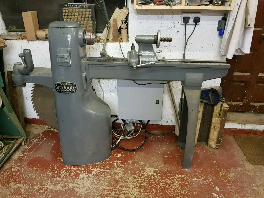 Union Graduate Wood Turning Lathe In Leicester Leicestershire
