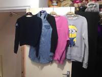 Bundle of size 6/8 clothes