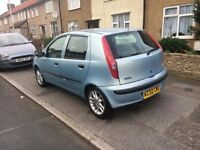 Fiat Punto, 1.2 petrol, automatic, mot 8 months, car drives well, nice and clean ins and outs