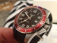 Longines HYDROCONQUEST L3.695.4.Men's Automatic Watch LIMITED EDITION SWISS MADE