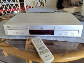 LG DVD Player + remote