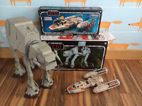Star Wars Vintage Collection ATAT and Y-Wing Fighter - Great Christmas present set