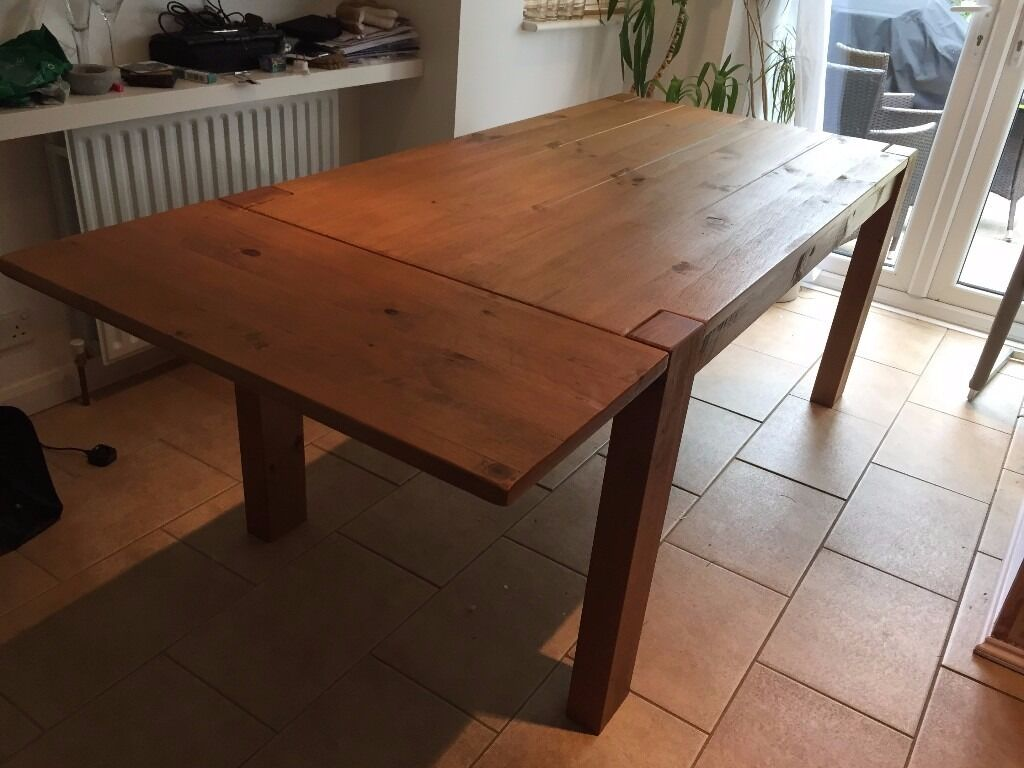 Next Hartford range Solid Pine Dining Table excellent  : 86 from www.gumtree.com size 1024 x 768 jpeg 88kB