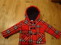 Baby girl fleece coat/jacket