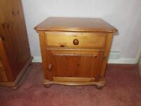 Bedside cabinet , pine from M&S