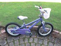 """Girl's bike (16"""" wheels)"""
