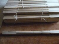 Hemlock staircase spindles and Newel post BRAND NEW