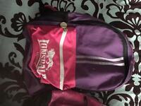 2 rucksacks