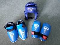 Children's kickboxing safety kit
