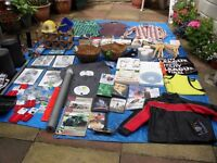 JOB LOT OVER 100 ITEMS MOSTLY NEW INCLUDES CHILDS BIKER JACKET, GARDEN FORK, SNOW SHOVEL ETC
