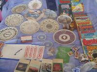 new and collectable items for shop /car boot ect