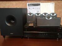 Home cinema surround sound unit