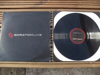 2 x Official Black Rane Serato Scratch Live Timecode Control Vinyls. SL1