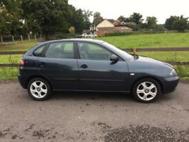 MID MONTH SALE 2005 Seat Ibiza 1,4 litre 5dr 2 owners FSH