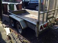 Indespension 2.6 tonne twin axle 8ft x 4ft, trailer,