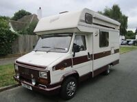 FIAT DUCATO DIESEL MOTORHOME EXCELLENT CONDITION
