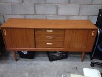 vintage late 1960's-early 1970's sideboard