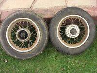 Vintage Scooter wheels - possibly French