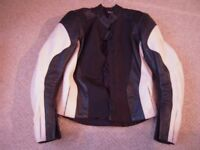 Ladies Size 10 Hein Gericke motorcycle two piece leathers