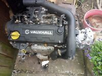1.7 turbo Isuzu gearbox engine 92000