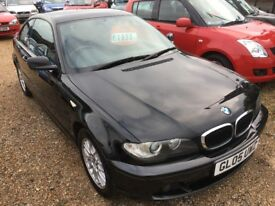 2005 BMW 2.0 318 CI ES E46 COUPE 2DR BLACK