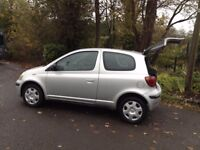 IDEAL 1st 2nd CAR/ TOYOTA YARIS/HI SPEC/ EASY TO DRIVE/TWO OWNERS/LOW MILES/NEW MOT&CAMBELT ...